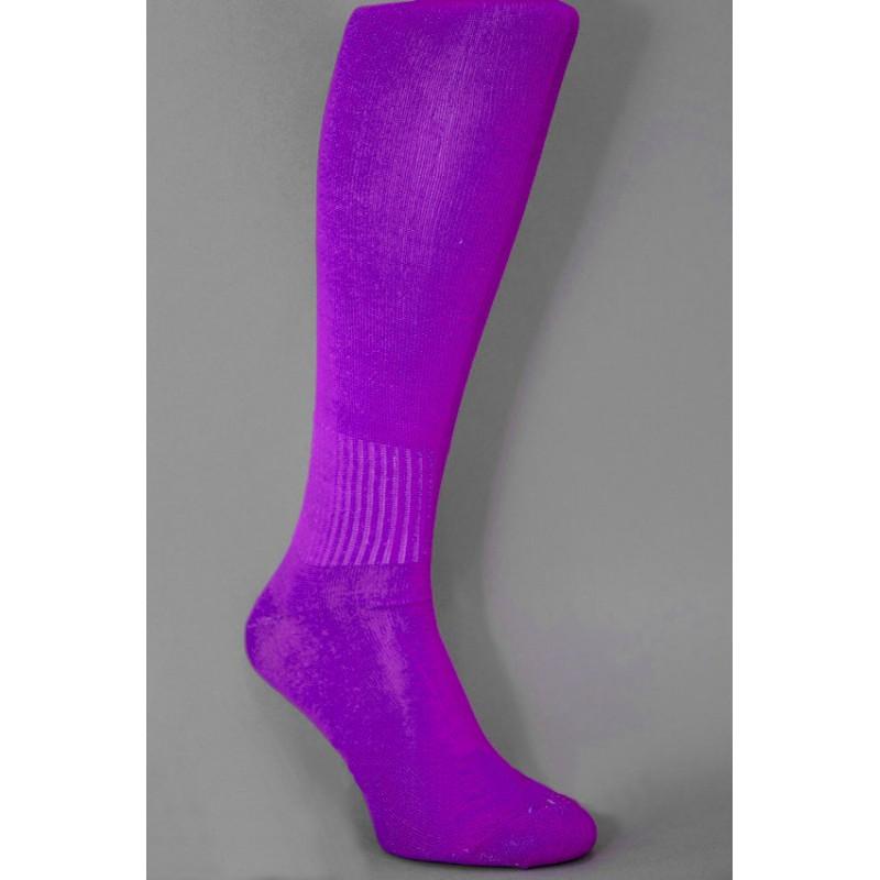 Детские гетры фиолетовые